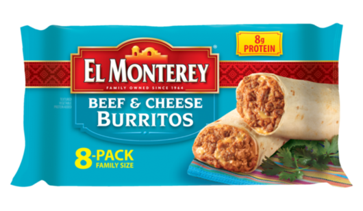Beef & Cheese Burritos - Family Pack