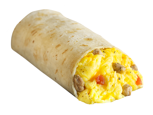 Sausage, Egg & Cheese Burritos - Bulk Pack